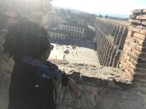 Taking in the wonder that is the Aqueducts